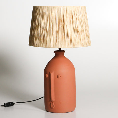 Solaman Table Lamp Terracotta