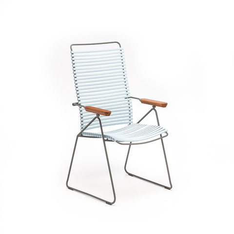 Click Outdoor Rocking Chair Dusty Light Blue
