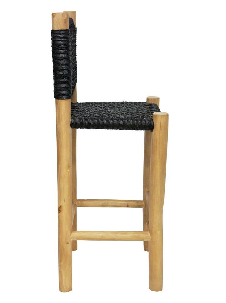 Accent Barstool Black