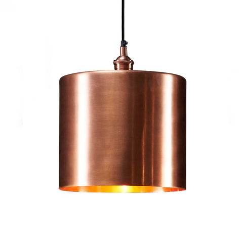Lugano Pendant Antique Copper Large