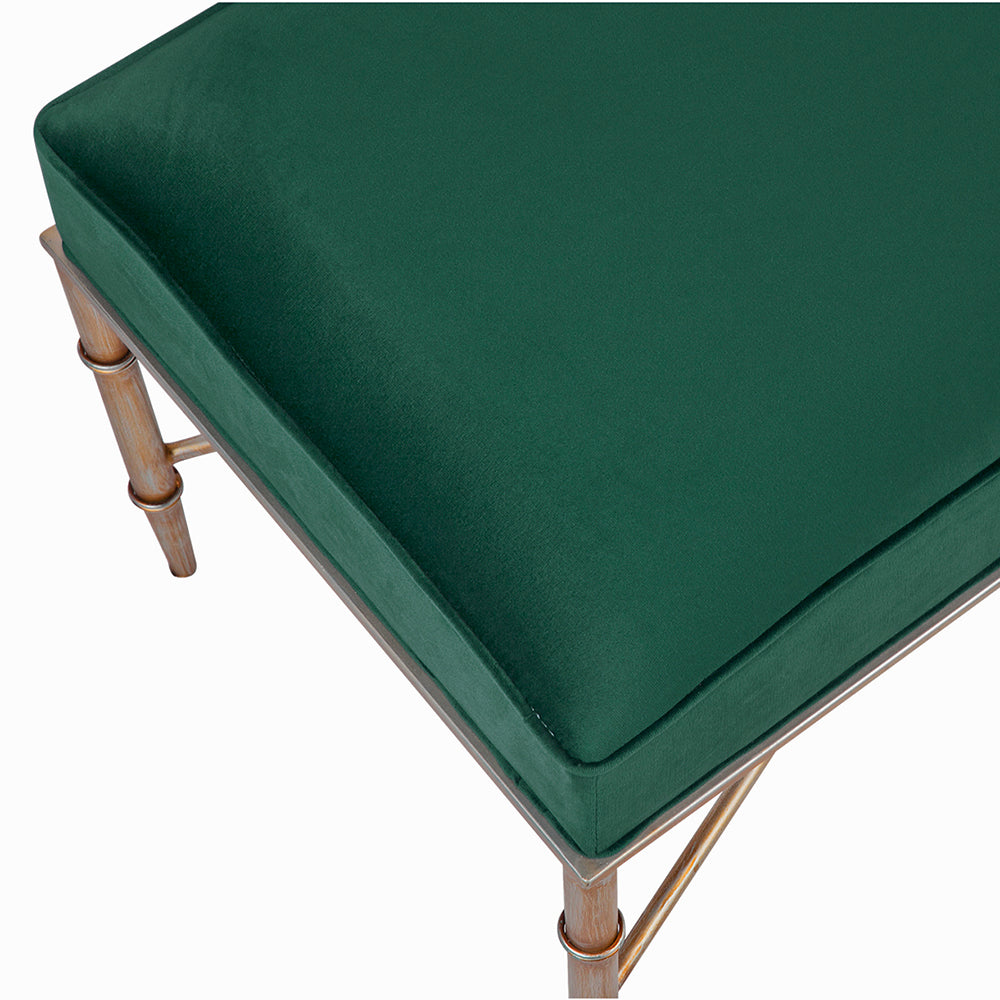 Cleo Bench Emerald