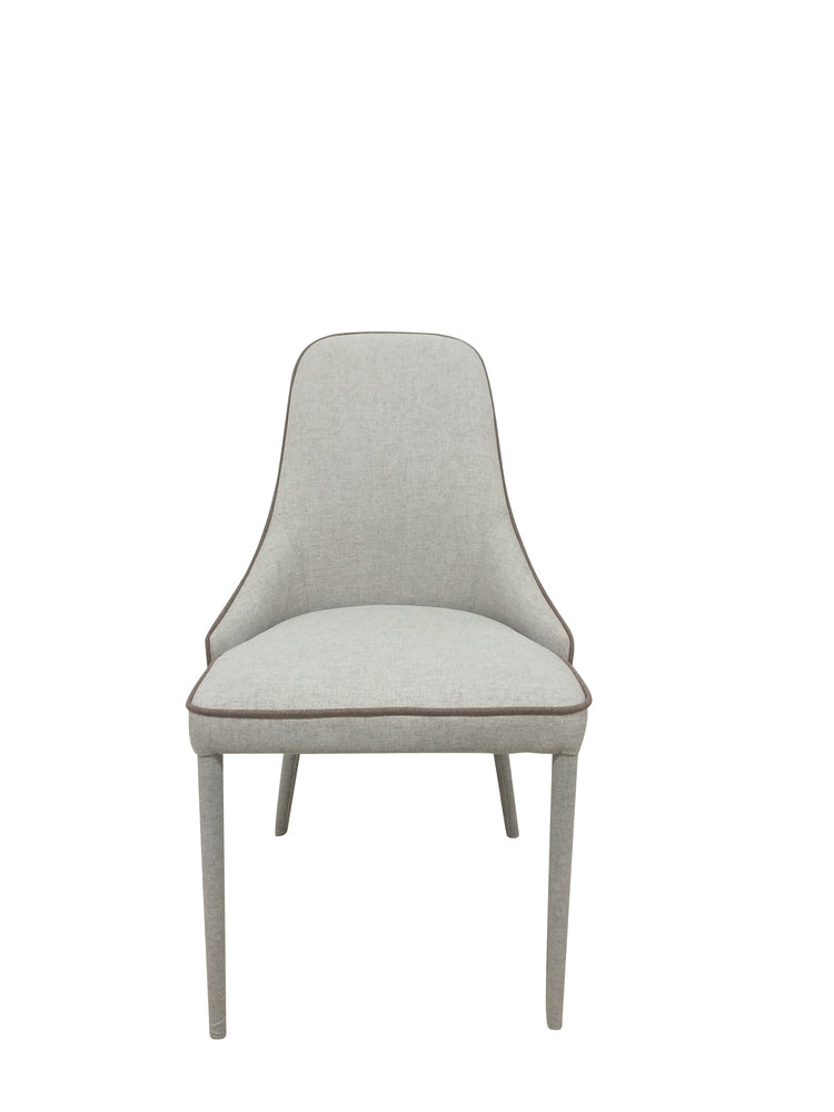 Piper Dining Chair Silver Grey