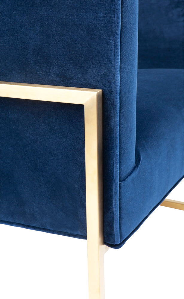 Amoret Arm Chair Navy