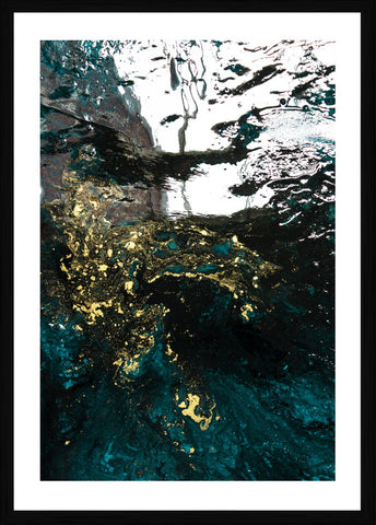 Teal Reverie III Photographic Framed Print