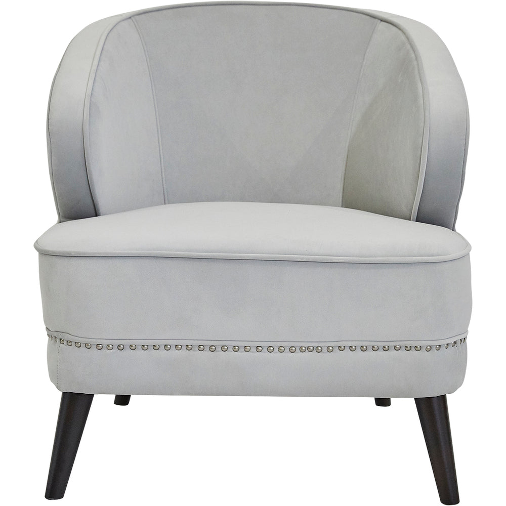 Felicia Arm Chair Grey