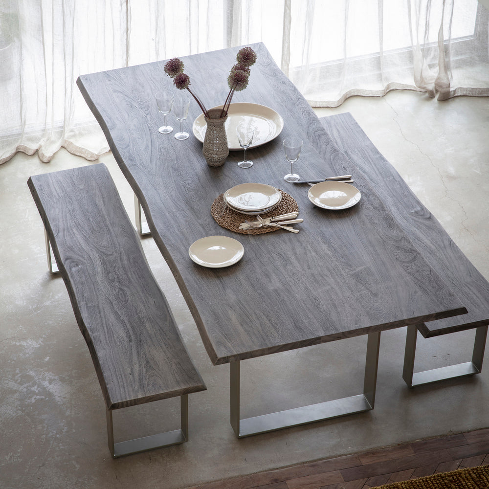 Haddon Dining Table Grey 240cm