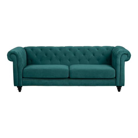 Charles 3 Seater Sofa Green