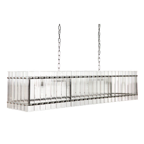 Carlos Chandelier Long Nickel