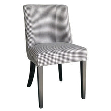 Ophelia Chair Black Houndstooth