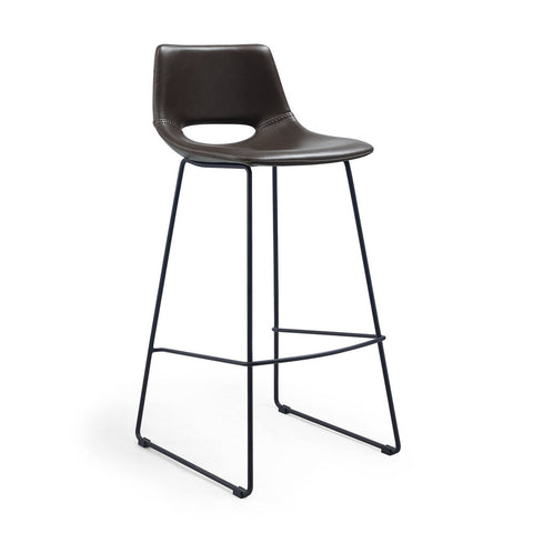 Panetti Barstool Dark Brown