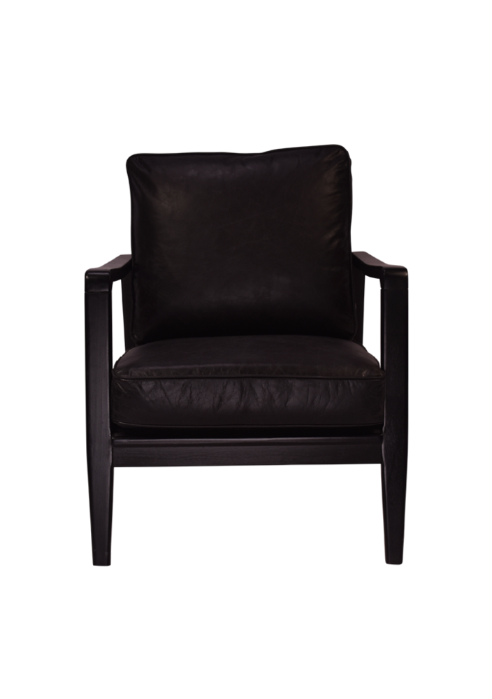 Lucas Buckle Chair Black