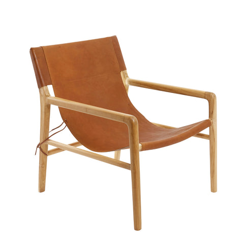 Ayana Chair Tan Leather
