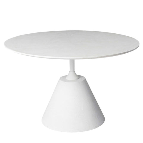 Sanders Outdoor Dining Table White