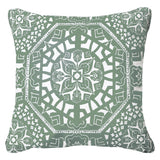 Espana Green Outdoor Cushion