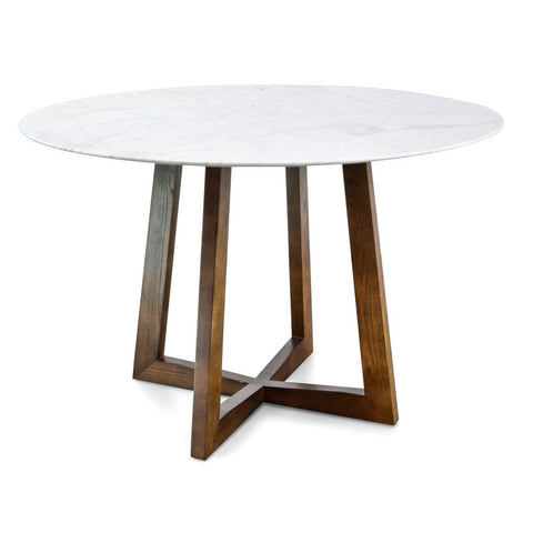 Kew Dining Table Walnut Small