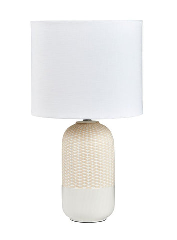 Morrison Table Lamps Grey Pair