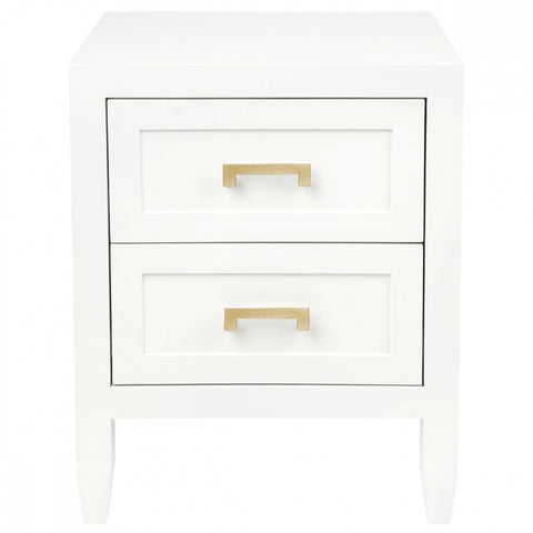 Harbour Bay Bedside White Small
