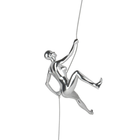 "Climbing Woman ""D"" White Gloss"