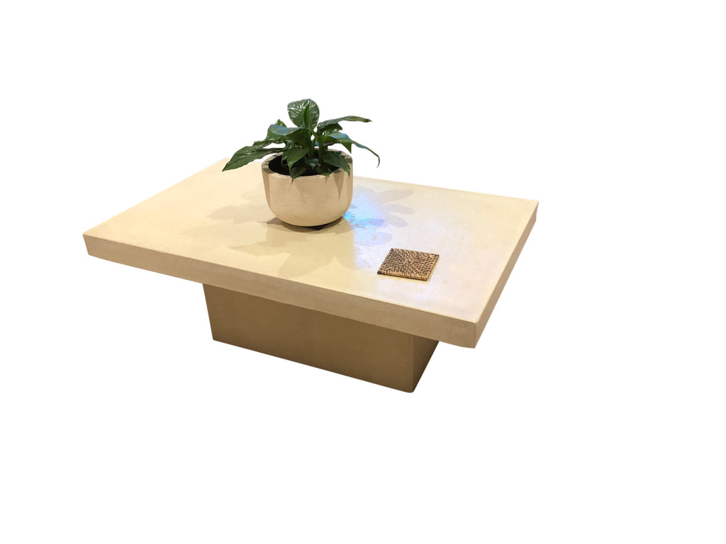 Square Edge Outdoor Coffee Table