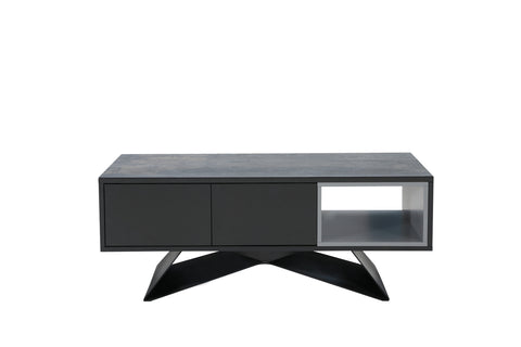 Romano Extension Dining Table Shadow Grey