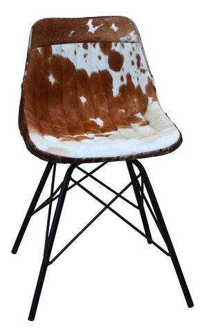 Cow Hide Floor Rug Black/White