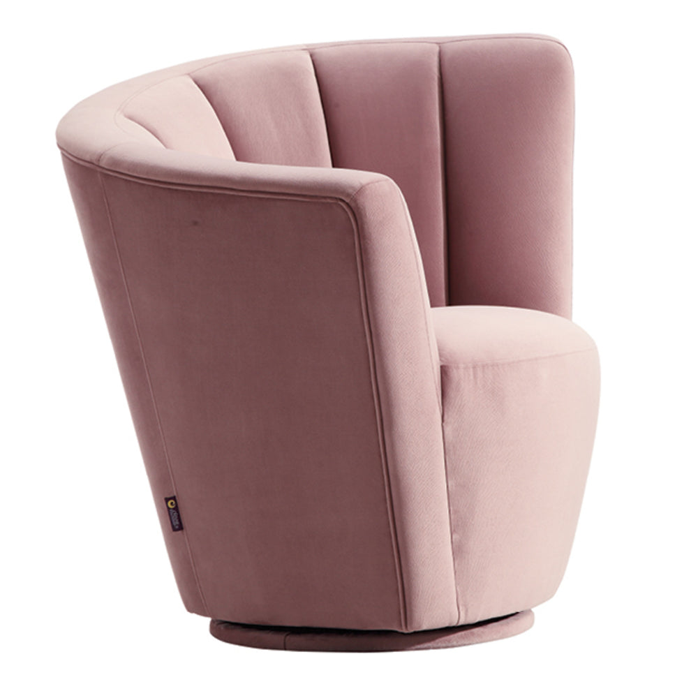 ... Fantail Swivel Chair Pastel Pink Pair ...