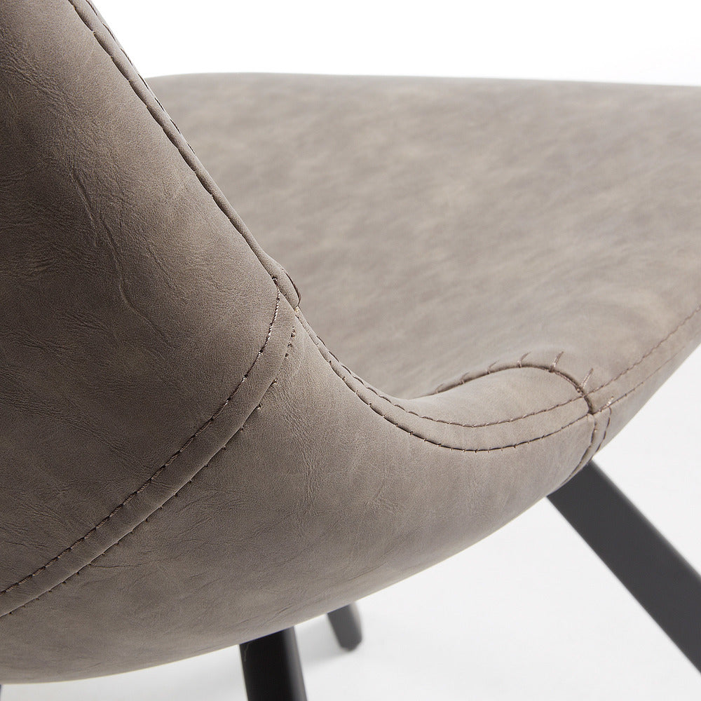 Andrew Chair Taupe ... & Andrew Chair Taupe | INTERIORS ONLINE