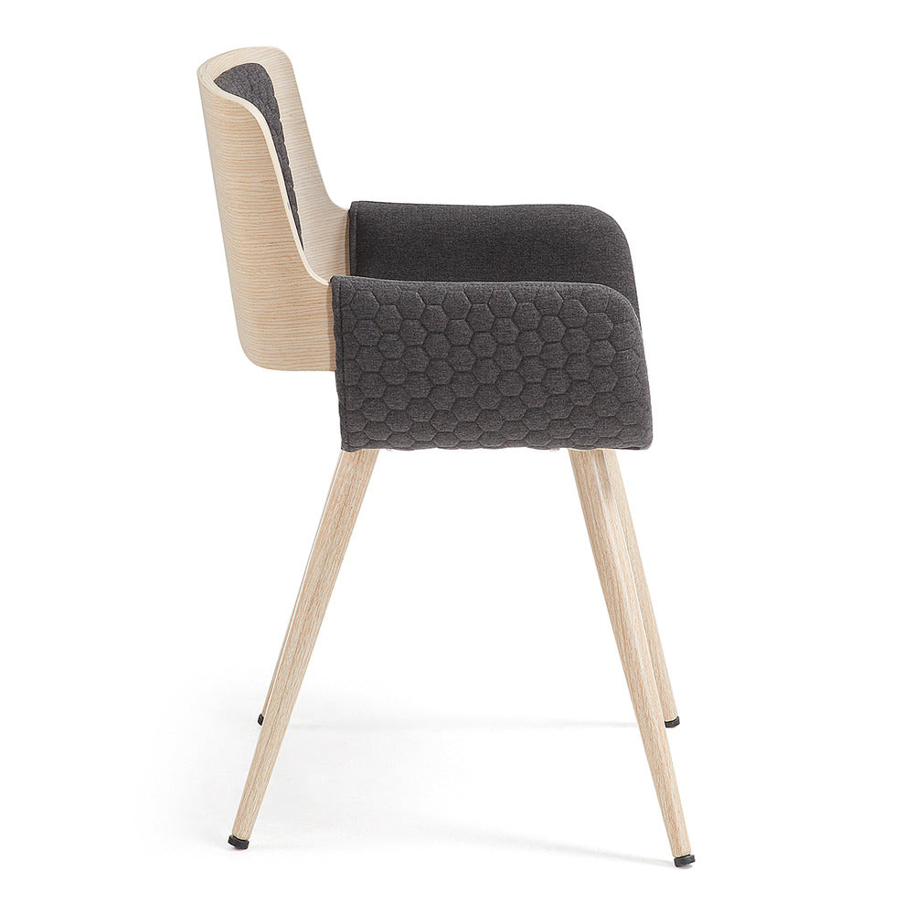 Aldo Arm Chair Dark Grey
