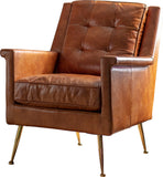 Madeley Armchair Tan Leather