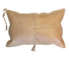 Aren Leather Pillow Caramel