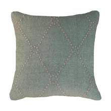 Diamond Dot Sage Medium Cushion
