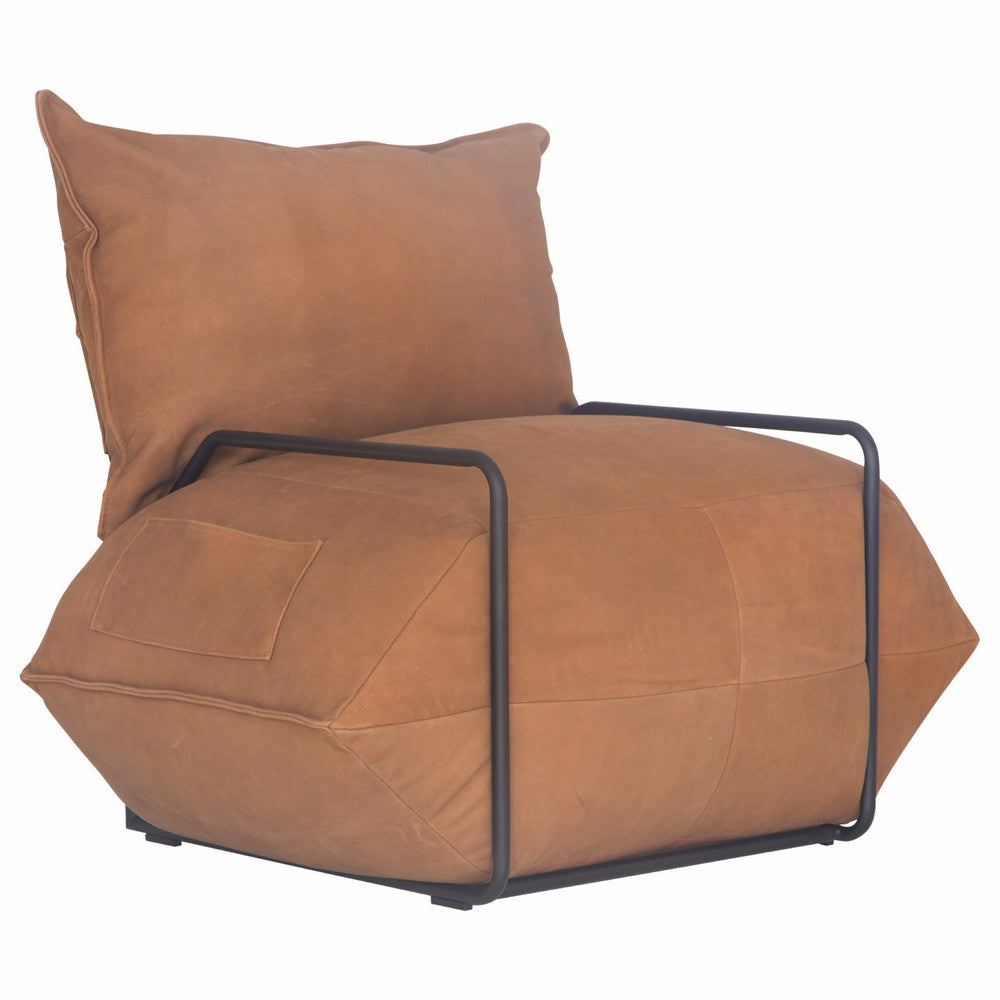 Pretoria Chair Cape Leather Brown