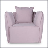 Louella Occasional Chair Dusty Pink