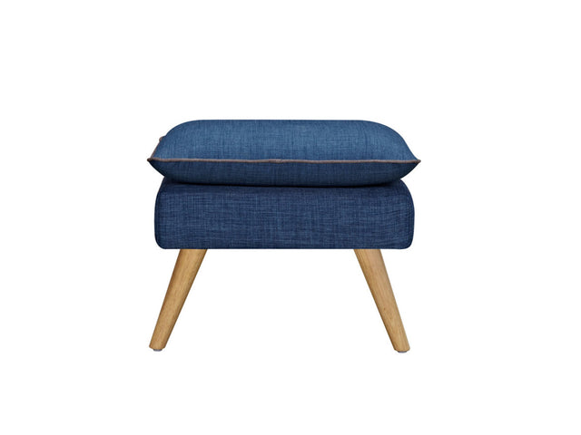 Sixty Luxe Stool Denim Blue