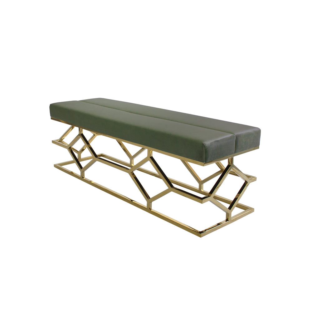 Digby Ottoman/Bench Olive