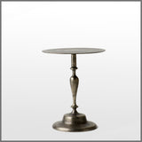 Aluminium Side Table Pewter Small