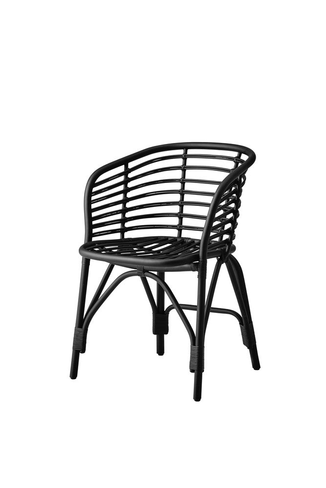 Blend Dining Chair Black with Cushion Options