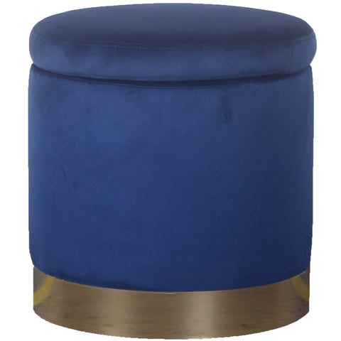 Padstow Ottoman Navy Small