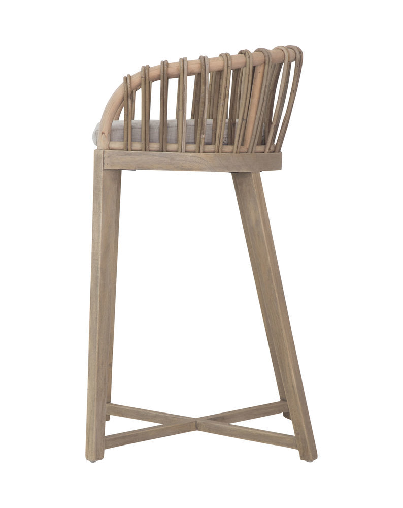Malawi Tub Barstool Natural