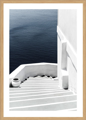 Stairway to Heaven Photographic Print with Frame