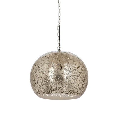 Bhumi Table Lamp Nickel