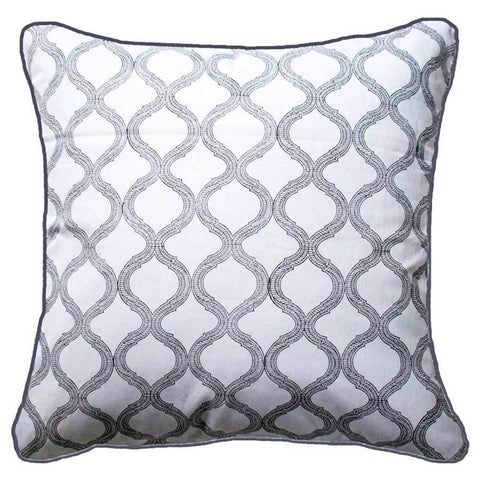 Lace Screen Black Lounge Cushion