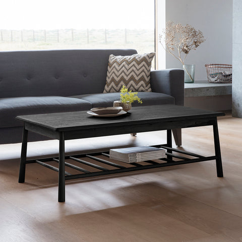 Wyn Rectangular Coffee Table Black