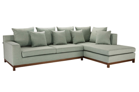 Bailey Modular Sofa Ivory Right