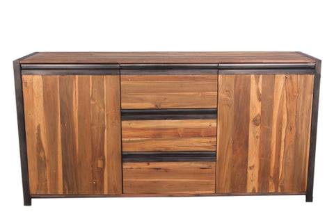 furniture industrial style. Newport Buffet Furniture Industrial Style N