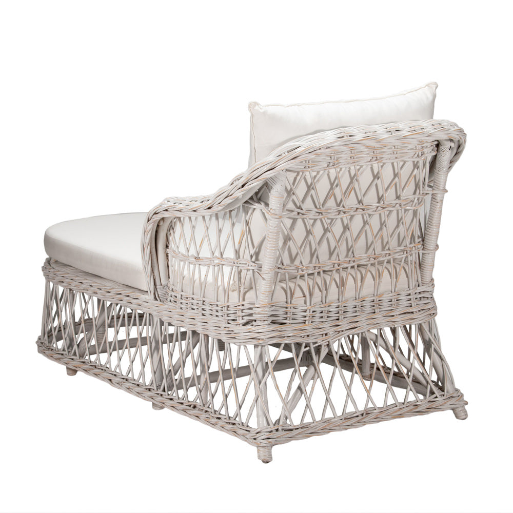Cedros Day Bed Distressed White
