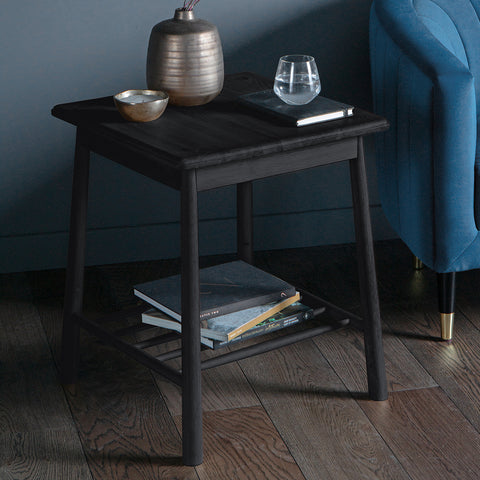 Wyn Side Table Black