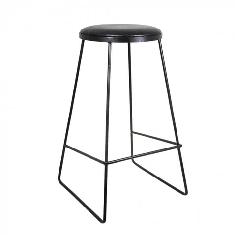Campsi Bar Stool Black