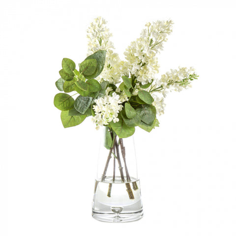 White Lilac Floral Arrangement