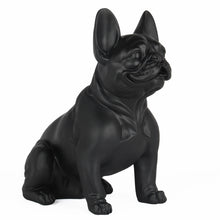 French Bulldog Sculpture Matt Black